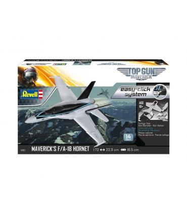 Maverick's F/A-18 Hornet 'Top Gun: Maverick' easy-click
