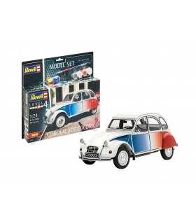 Citroen 2 CV Cocorico, Model Set