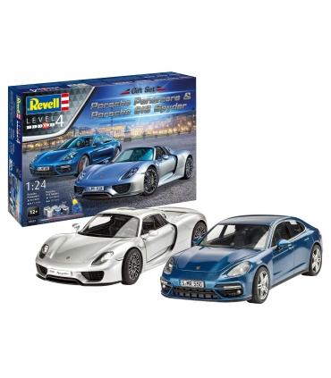 Set Porsche Panamera & Porsche 918 Spyder, Gift Set
