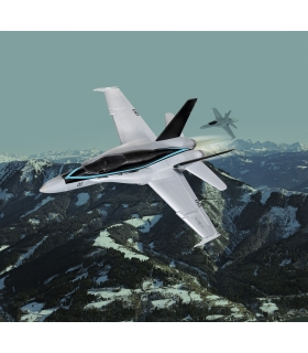 Maverick's F/A-18 Hornet 'Top Gun: Maverick' easy-click