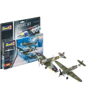 Combat Set Messerschmitt Bf109G-10 & Spitfire Mk.V, Model-Set