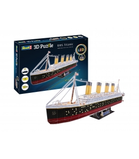 3D Puzzle RMS Titanic LED