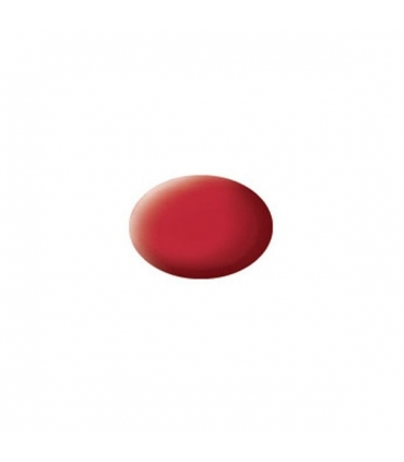 Aqua Carmine Red Mat, 18 ml