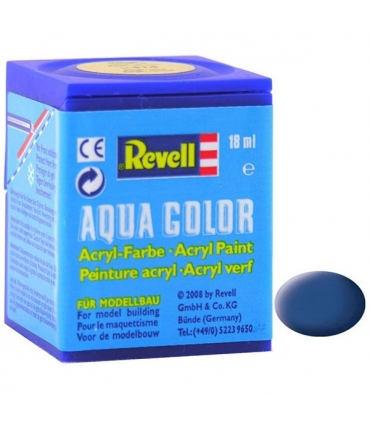 Aqua Blue Mat, 18 ml