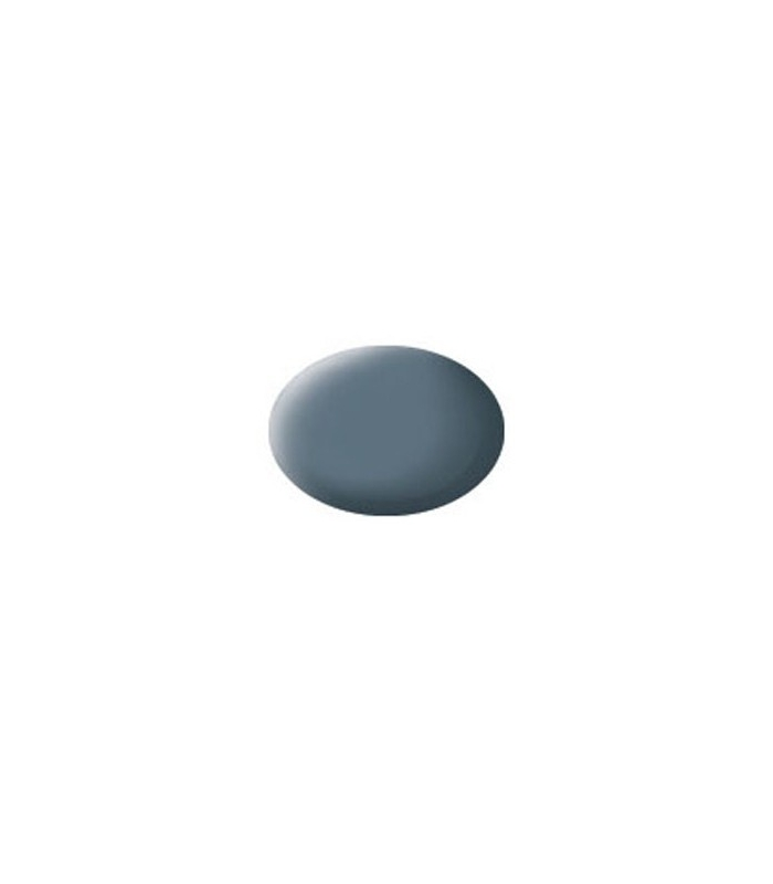 Aqua Greyish Blue Mat, 18 ml
