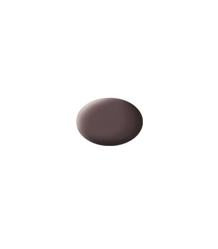 Aqua Leather Brown Mat, 18 ml