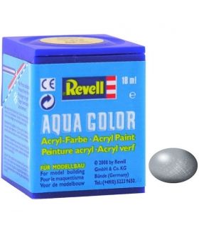 Aqua Silver Metallic, 18 ml