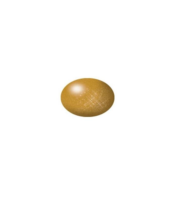 Aqua Brass Metallic, 18 ml