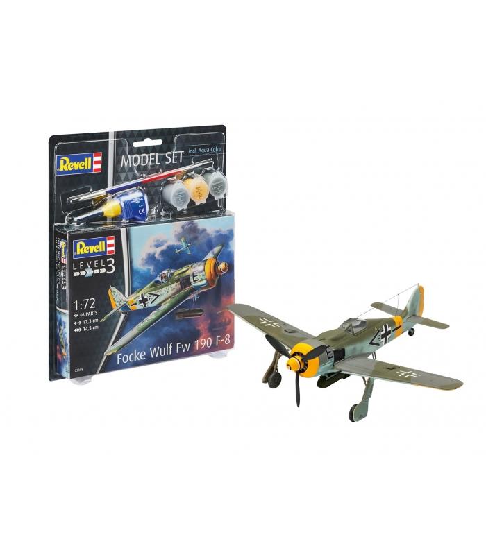 Focke Wulf Fw190 F-8, Model Set