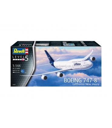 Boeing 747-8 Lufthansa 'New Livery'