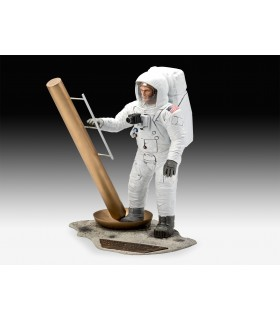 Apollo 11 Astronaut on the Moon