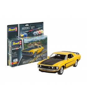 1969 Boss 302 Mustang, Model Set